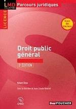 DROIT PUBLIC GENERAL 5E EDITION